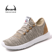 New Air Mesh Fabric Mens Running Sneakers Men Sports Shoes For Mans Cool Walking Shoes Outdoor