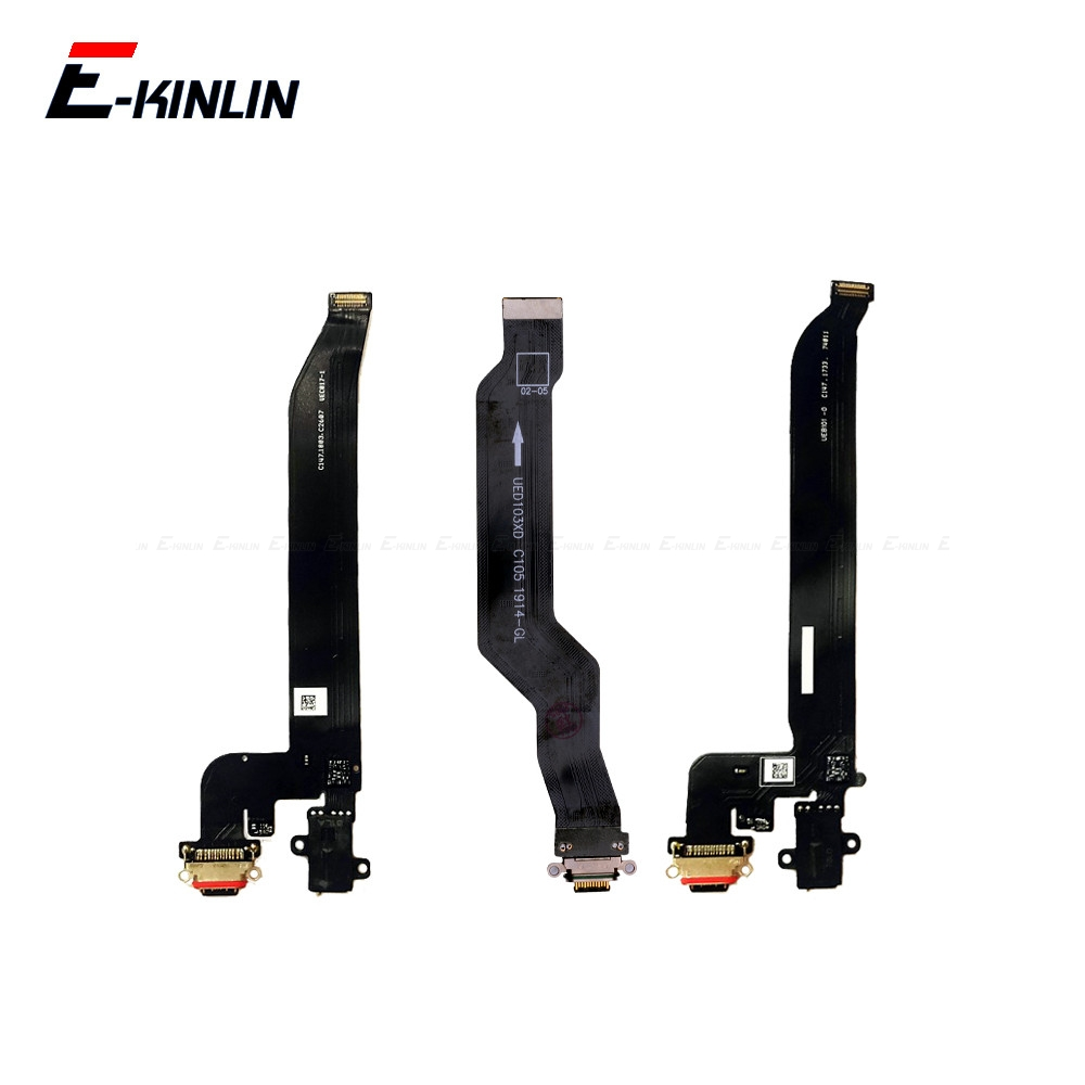 Type C USB Charger Connector Port Plug Flex Cable Repair For OnePlus One Plus 5 5T 6 6T 7 Pro Power Charging Dock Port
