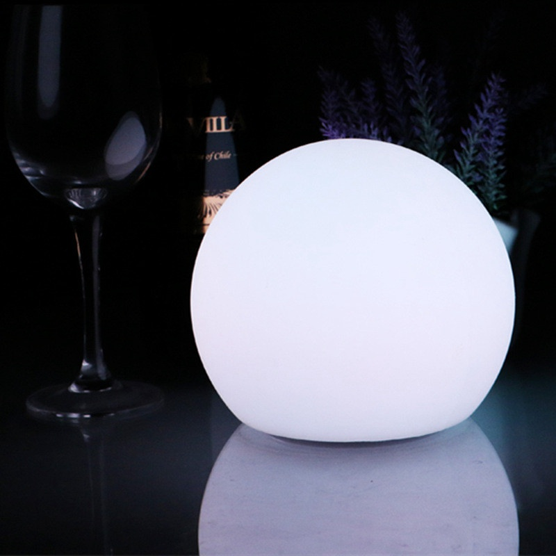 hot romantic color changing ball shaped mood light relax night lamp for baby children gift home cheap mood lighting