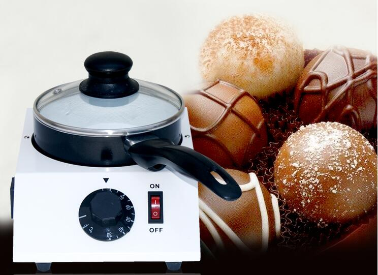Free shipping Chocolate melting machine;Chocolate melting pot fast shipping food machine digital chocolate melting machine stainless steel chocolate machine household and commercial