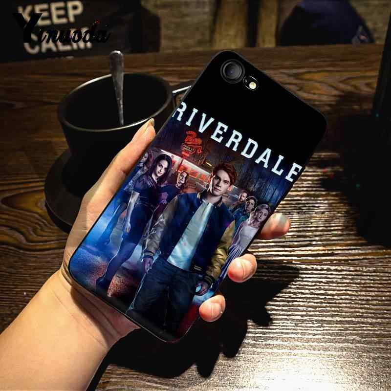 Yinuoda For iphone 7 6 X Case Hot TV Show Riverdale Dominant Protector phone Case for iPhone X 6 7 6s 7plus 8 8Plus 5 5S 5C SE
