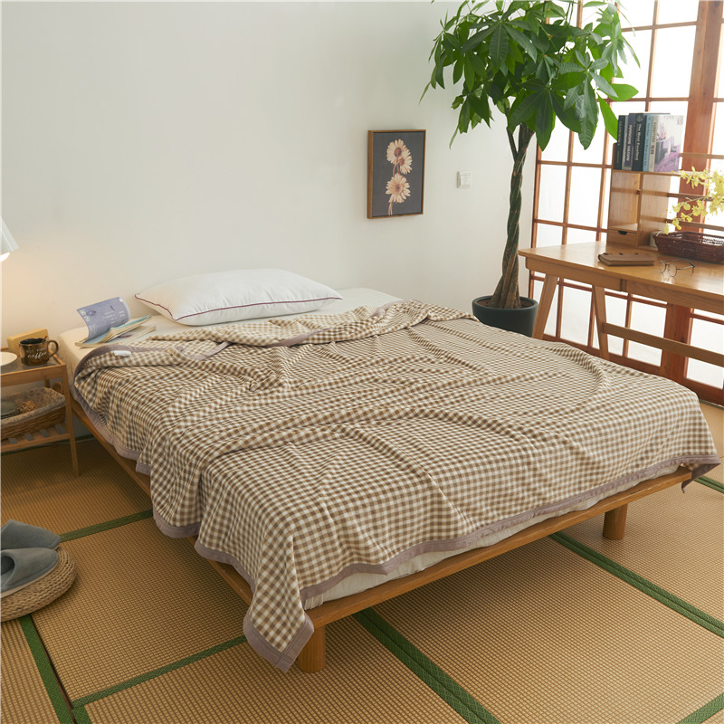 Thicken Bedspread Blanket 200x230cm High Density Super Soft Flannel Blanket To On For The Sofa/Bed/Car Portable Plaids