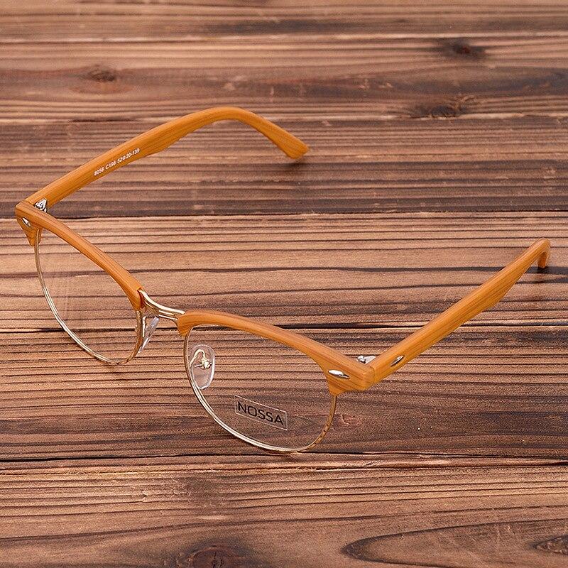 69d2d307a3 Hot Sale Men And Women s Brand Designer Glasses Frame Fashion Vintage  Eyeglasses Frames Rivet Optical Spectacle Frame Clear Lens-in Eyewear Frames  from ...