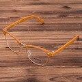 Venda quente Dos Homens E das Mulheres Designer de Marca Óculos De Armação de Moda Óculos Frames Do Vintage Rebite Espetáculo Óptico Quadro Lente Clara