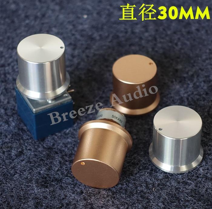 BRZHIFI Full Aluminum Knob For Power Amplifier 30*25mm