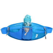 Unisex Outdoor Sport Nylon Waist Bag Water Kettle Pockets Breathable for Running Mountain Climbing Running Activities