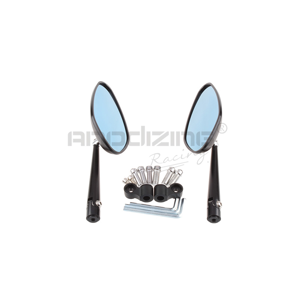 Universal Street Sport Bike Motorcycle Rear Side Bar End Cnc Mirror Universals Axle Available Part Diagrams 10 In Front Suspension Mirrors Accessories From Automobiles Motorcycles On