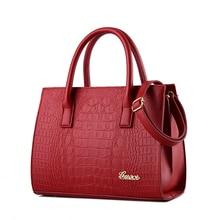 fashion alliagtor women bag famous brand handbags high quality pu leather shoulder crossbody bag zipper single clutch sac C35