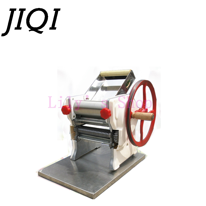 Фотография Stainless steel multifunction household noodle pressing maker manual pasta making machine dumpling wrappers wonton Dough Rolling