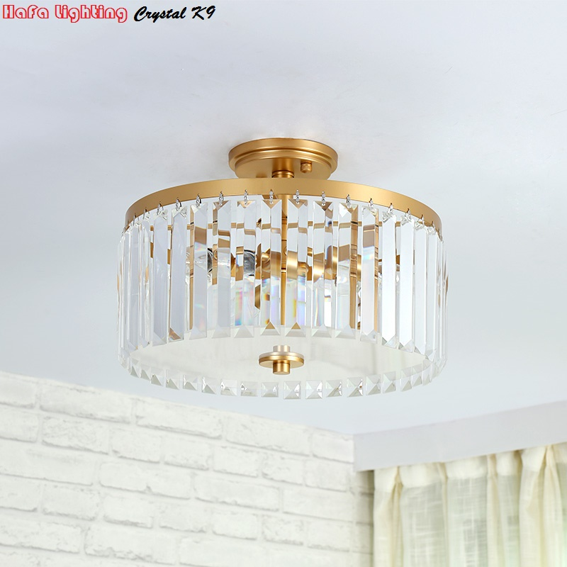 Us 97 00 Luxury Crystal Ceiling Lights Surface Mounted Crys