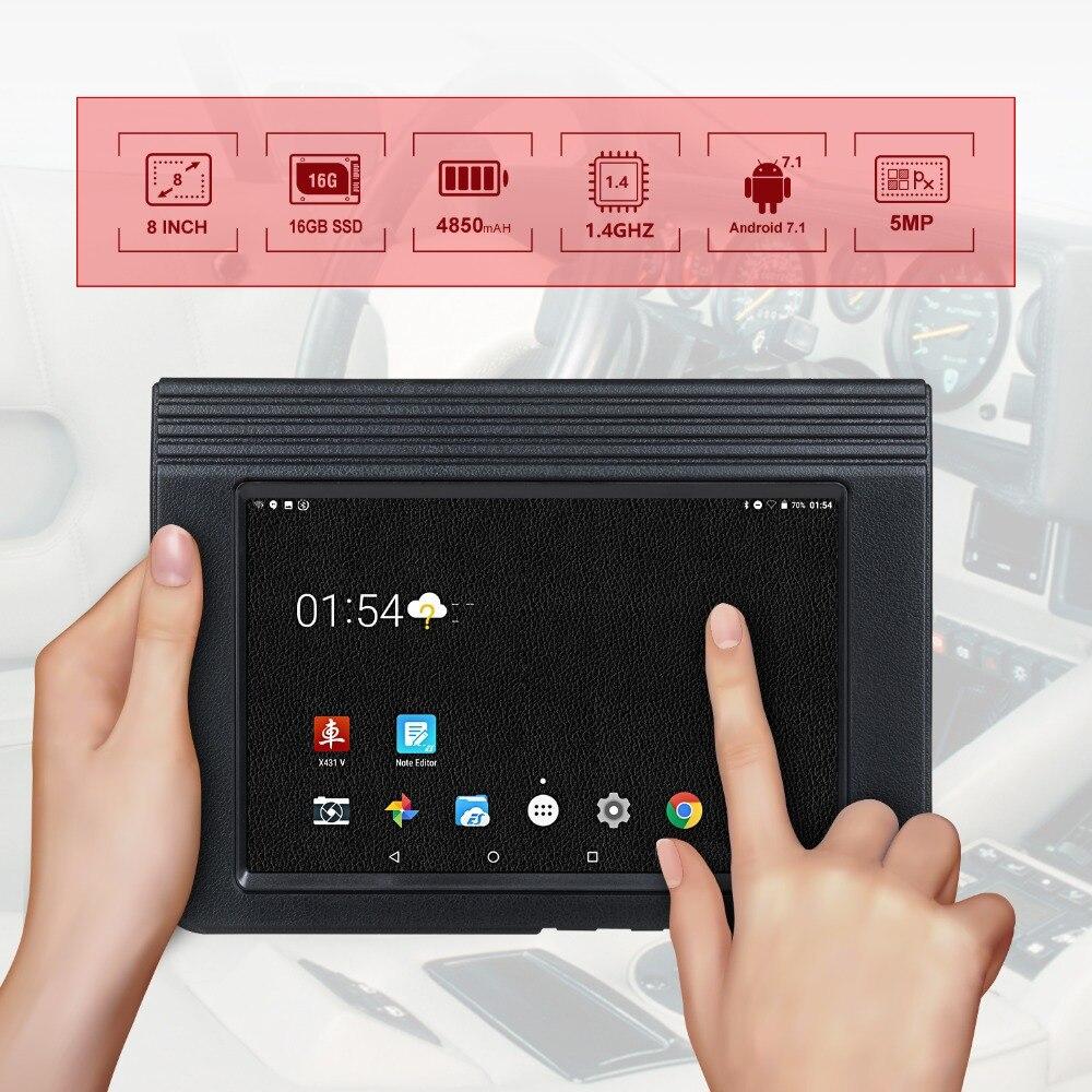 LAUNCH X431 V 8 Bluetooth Wi-Fi Full System Car Diagnostic tool | bizafy  Online