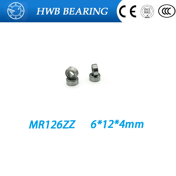 high quality ABEC3 <font><b>mr126zz</b></font> mr126 zz MR126 Z BEARING 8*14*4mm image