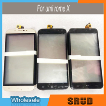 100% Quality Guaranteed Touch Panel Glass Replacement for UMI ROME X Black/Gold Color 10pcs/lot