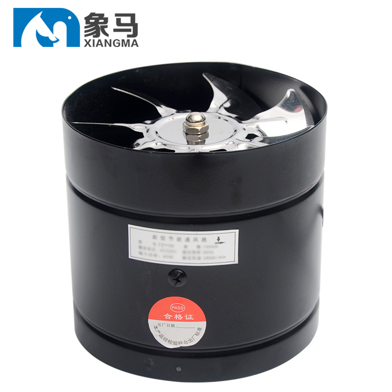 Popular Brand Duct Fan, Exhaust , Kitchen Ventilator, 6 Inch Smoke Exhauster , Strong Exhaust Fan, Toilet Ventilation Beneficial To Essential Medulla
