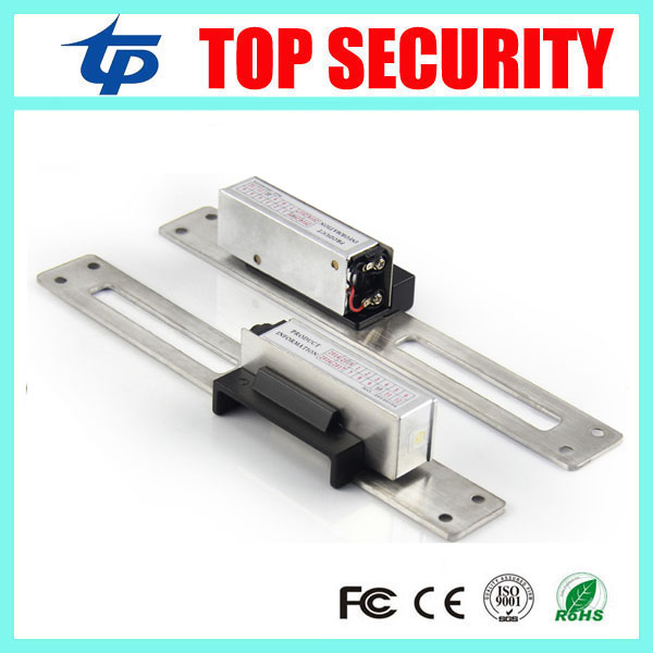 Fail Safe NO Narrow-type Long-type Door Electric Strike Lock for Access Control 12V DC power to open electric door lock system yli electronic narrow type electric strike lock electric fail secure electric door lock access control lock ys130no