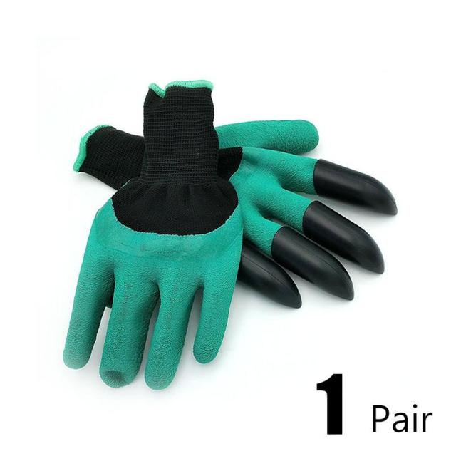 Garden Gloves With Fingertips Claws 3