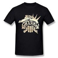 Zomer Stijl Mode T-shirts mannen Korte O-hals Korte Mouwen AICH mannen Hank Williams Jr III Schedel Logo Zwarte T-shirt