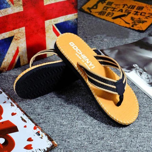 47e9755e700 Men Summer Slippers 2018 ISHOWTIENDA Fashion New Indoor Outdoor Casual  shoes beach Sandals Boys outdoor Fashion Men flip flops