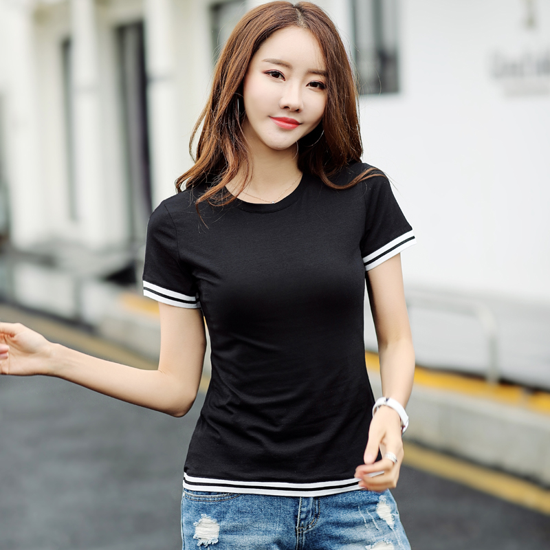 T-shirt Summer Clothes 2018 New Tshirt Harajuku Women's Top Female T shirt Women Camisetas Short Sleeve Shirt Cotton A013 1