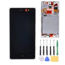 Pour Nokia Lumia 830 LCD Affichage avec Écran Tactile Diaplay Digitizer Assemblée + Cadre Noir/Argent/Blanc + Outils Livraison gratuite
