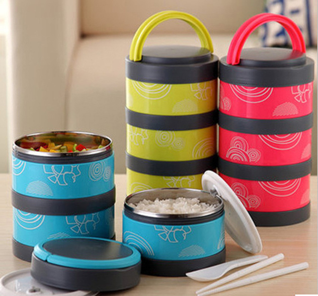 Thermos Lunch Box colorful kitchen utensils