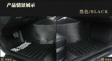 Envío libre personaliza coche tapetes alfombras pie alfombra auto estera de cuero profesional para Mazda 6/3 santa fe ix30/35 tuscon nueva