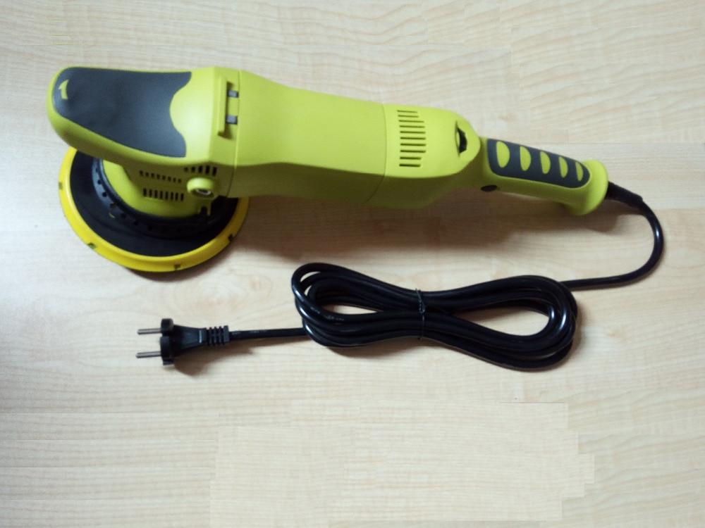 цена на high quality electric car polisher 21mm DA polisher 900w adjustable speed orbital diameter 21mm angle polisher electric tools