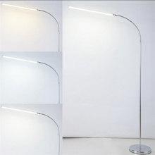 Moderno 9 W 12 W 15 W LED Lámpara de Pie regulable a distancia de pie Luces de la sala de estudio de piano estándar de lectura accesorio de iluminación led