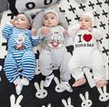 2016 новый детский крем с длинными рукавами одежды одежда мальчик девочка новорожденный младенец девочка одежда casual спортивный костюм
