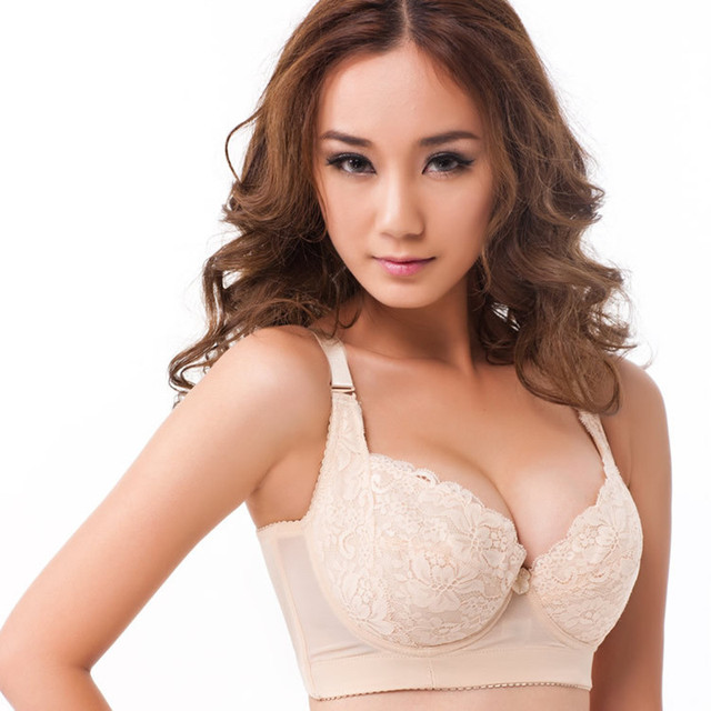 Detachable shoulder belt thin mold cup bras for women hot sale ...