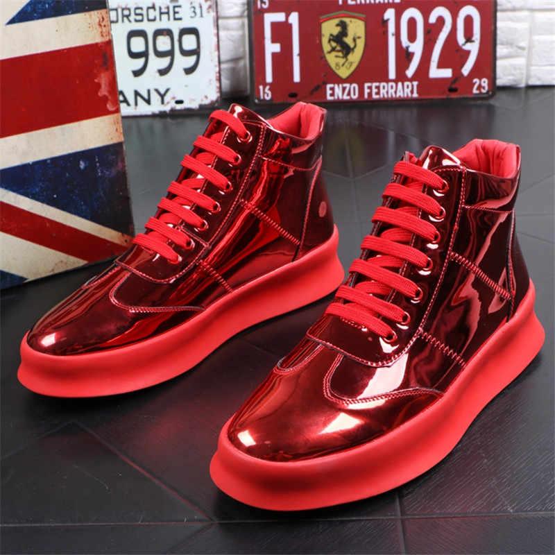 Modis Yeni Sonbahar Kış Erkek Elbise Botları Iş Erkek Botları deri erkek ayakkabısı Rahat Açık yarım çizmeler Mokasen iş ayakkabısı