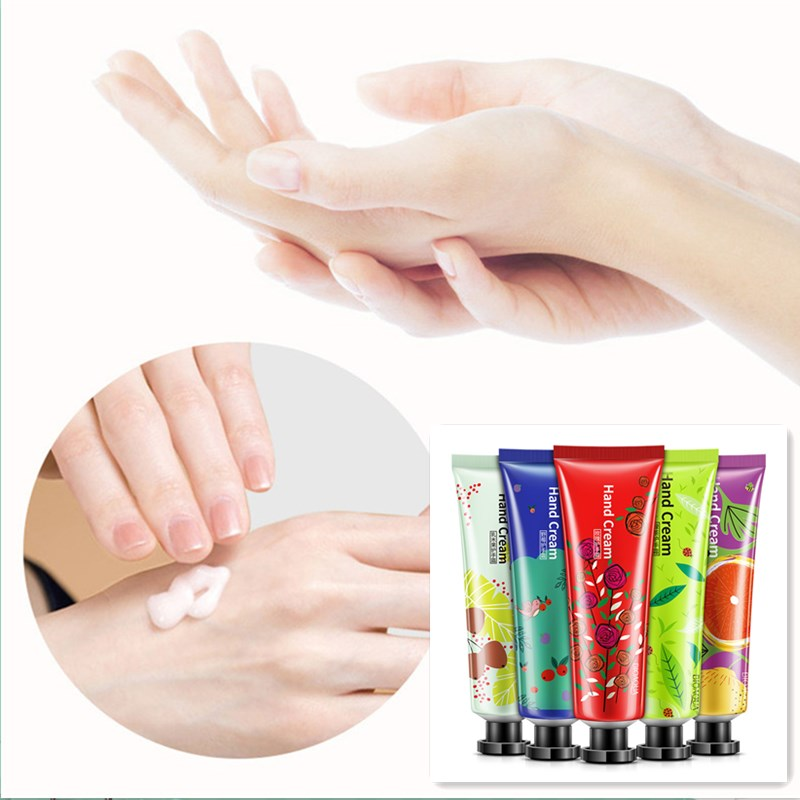 30g Fruit Fragrance Nourish Hand Cream Moisture Nourishing Hand Cream Skin Care Nourishing Lotion Oil Control For Women Girl