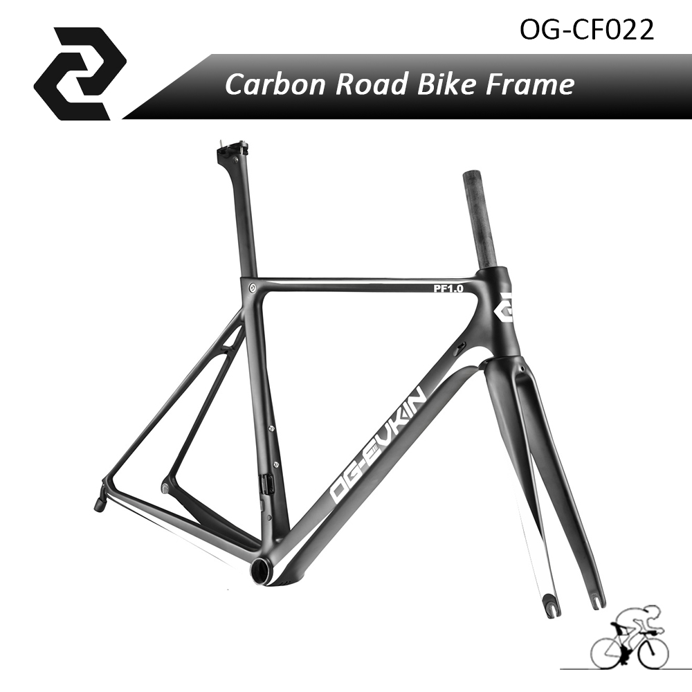 OG-EVKIN 700C Carbon Road Bike Frame with Fork,Headset,Seat Post,Clamp Ud Glossy/Matt Bb86 Carbon Bicycle Frameset 46/49/52/54cm s cowell physician of london