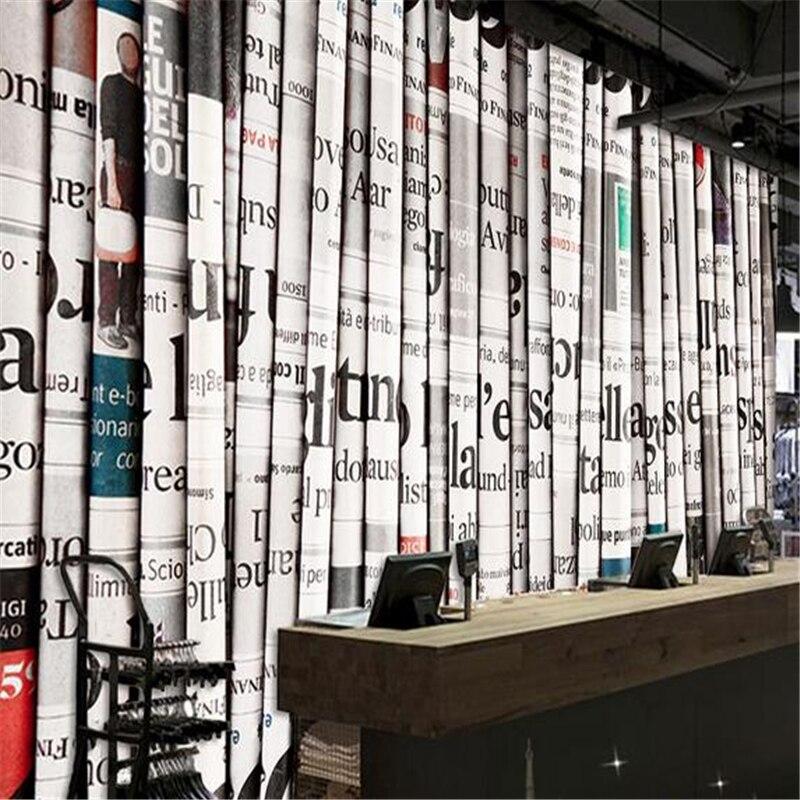 ₪Beibehang papel de pared 3D papel pintado estereoscópico moderno ...