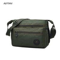 Venta caliente 2018 hombres bolsas de mensajero de alta calidad de los hombres de Nylon bolsa de viaje bolso masculino de los hombres clásicos del diseño bolsas a prueba de agua