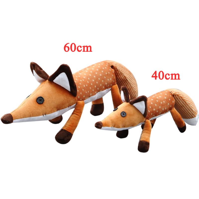 New 2 Types 1Pcs 45cm/60cm Little Prince Plush Dolls The Fox Stuffed Animals Plush Education Toys Gift For Kid Birthday Xmas the little prince fox plush dolls 45cm le petit prince stuffed animal plush education toys for baby kids