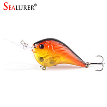 very low Prices Bionic Lifelike 3D Eyes Fishing Lure 9.5CM 11G High Quality Treble hook Artificial Hard Bait