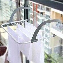 Multifunctional Outdoor Folding Rack For Clothes Towel Dryer Rack Hanger Shelf Drying Storage Radiator Metal Hook Large Clip