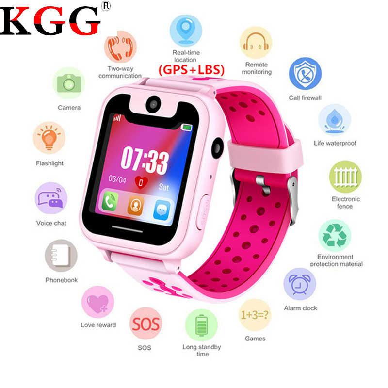 KG30 Smart watch GPS LBS Kid SmartWatch Baby Watch for Children SOS Call Location Finder Locator Tracker Anti Lost Monitor+Box