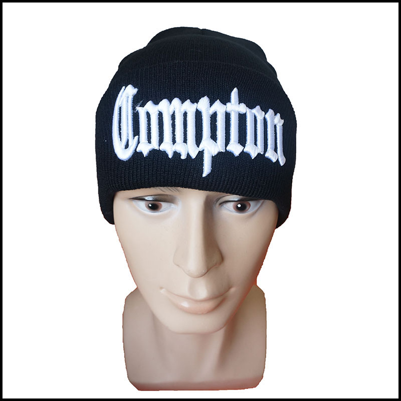Hip Hop Adult Skullies & Beanies for Winter Men and Women Knitted Hats Outdoor Caps with Letters Embroidery skullies