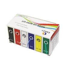 CBAZY Hook up Kit (Trefoli Kit) 28 calibro della gomma di Silicone Flessibile filo Elettrico 6 colori 32.8 piedi Ogni 28 AWG