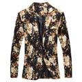2017 Spring floral blazer men suit korean slim big size new casual jacket suit euro Popular style, fashion men's blazer