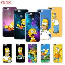 Bart Simpson Fantasy Silicone Customize Phone Case For Huawei Honor 8A 8S 7S 6X 7X 8X7 8 7A Pro MAX 9 10 Lite V9 Play 8C 10i 20i