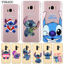 YIMAOC Lilo & Stitch Soft Silicone Phone Shell Case for
