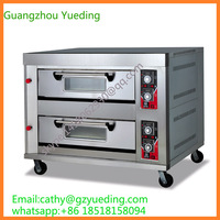 stainless steel professional gas pizza oven/bakery pizza oven/conveyor pizza oven with ce