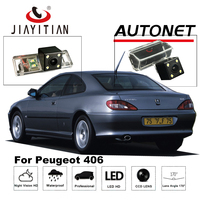 JIAYITIAN Rear View Camera For Peugeot 406 2001 2008 CCD/Backup Parking Camera/ 4LEDS/Night Vision/ License Plate camera