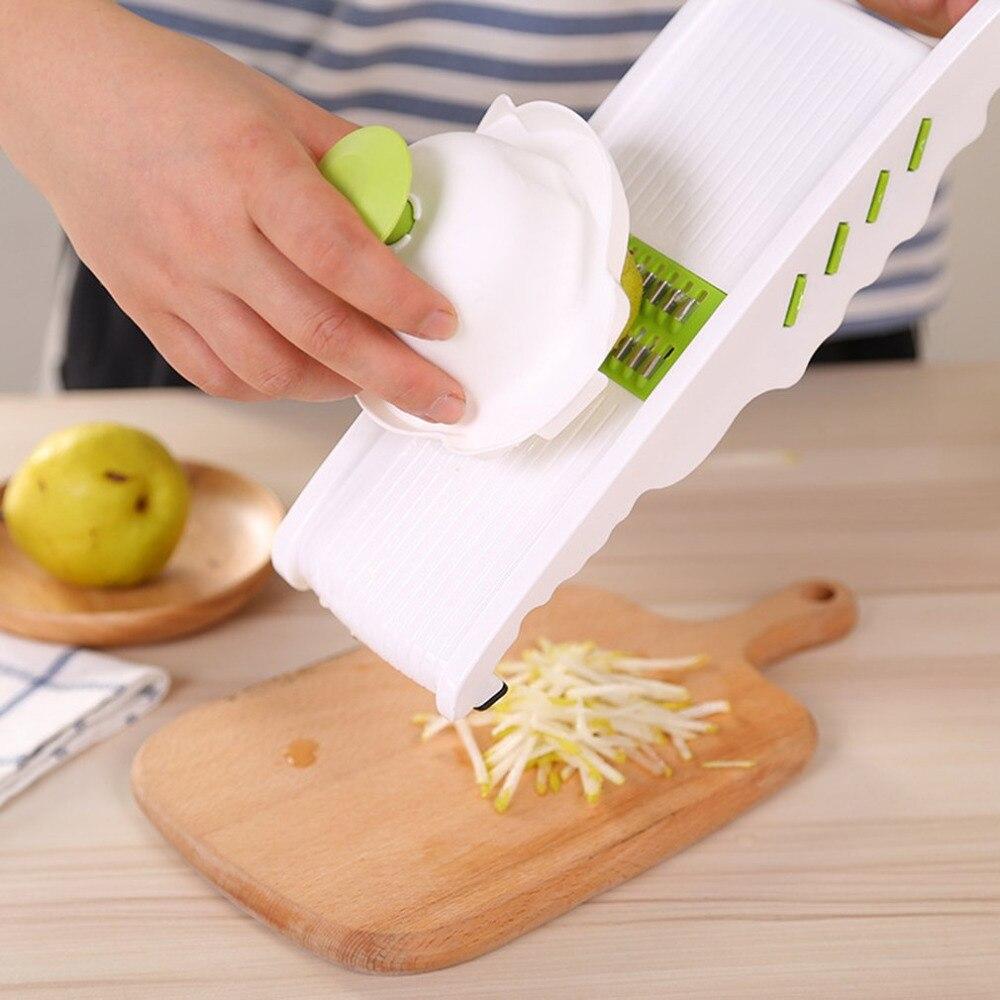 1PC Stainless Steel Multifunction Shredder Sliced Shred Strips Cutter Potatoes Carrots Vegetable Grater Slicer Kitchen Tool