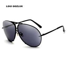 e4fa3fe34 8478 Óculos De Sol Dos Homens grande 2018 Mercedes Marca de Luxo Designer  de óculos de Sol óculos Para O Sexo Masculino Gafas Oc..