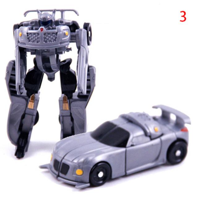 New Super Mini Plastic Transformation Robot Car 7 Styles