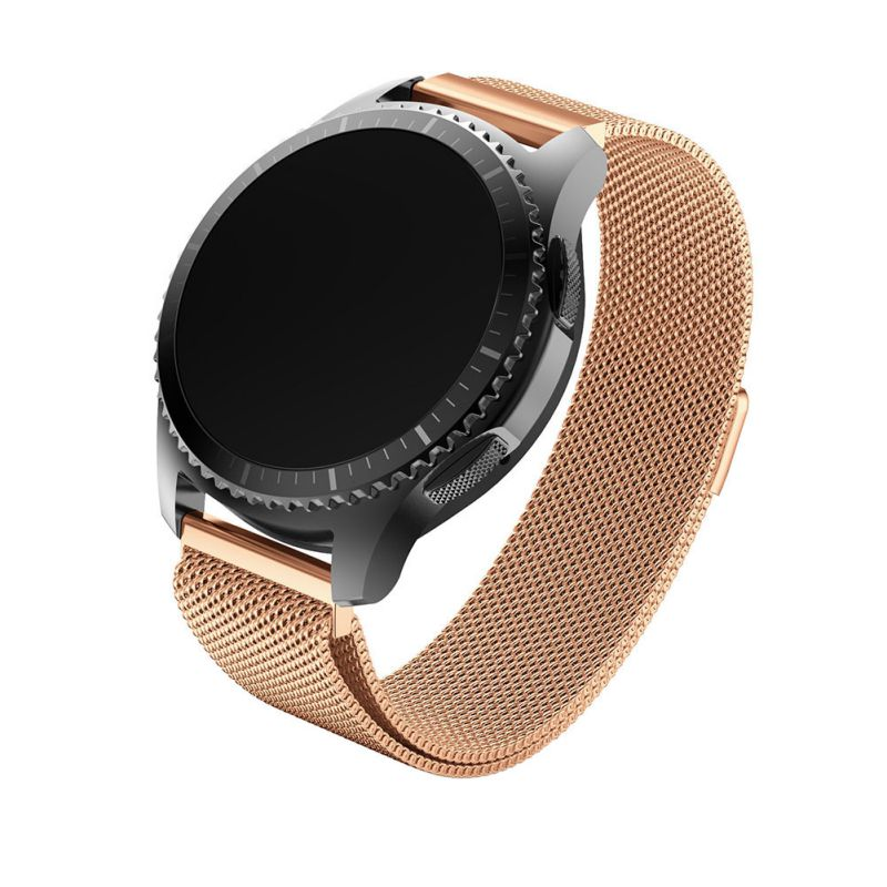 for gear s3 frontier s3 classic band stainless 20mm watch strap Milan watch strap Fully Magnetic Closure Clasp Mesh Loop